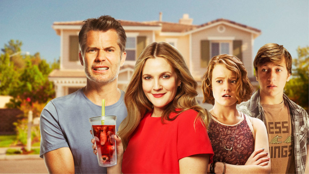 Santa Clarita Diet - Timothy Olyphant and Drew Barrymore